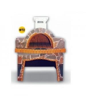 Φούρνος ΦΤ2  Τσεχίας Πυρότουβλο και Πέτρα Χτιστός Παραδοσιακός