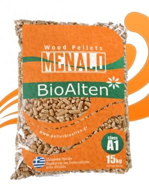 Πέλλετ Ελληνικό MENALO BioAlten Α1